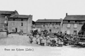 HISTOIRE DE COUME (57) dans Monographies communales Coume-Rue-de-Verrières-ancienne-Coll.Schoendorf-300x196